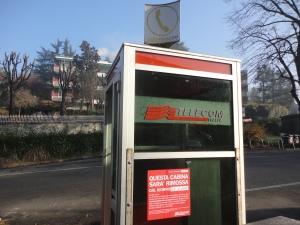 Torino, cabina telefonica, foto, Romano Borrelli