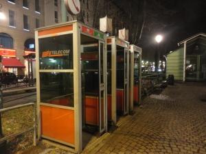 Torino, cabine telefoniche, foto, Romano Borrelli