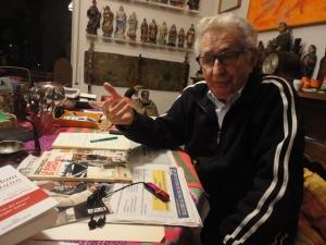 Torino, gennaio 2015. Diego Novelli, ex sindaco Torino. Foto, Borrelli Romano