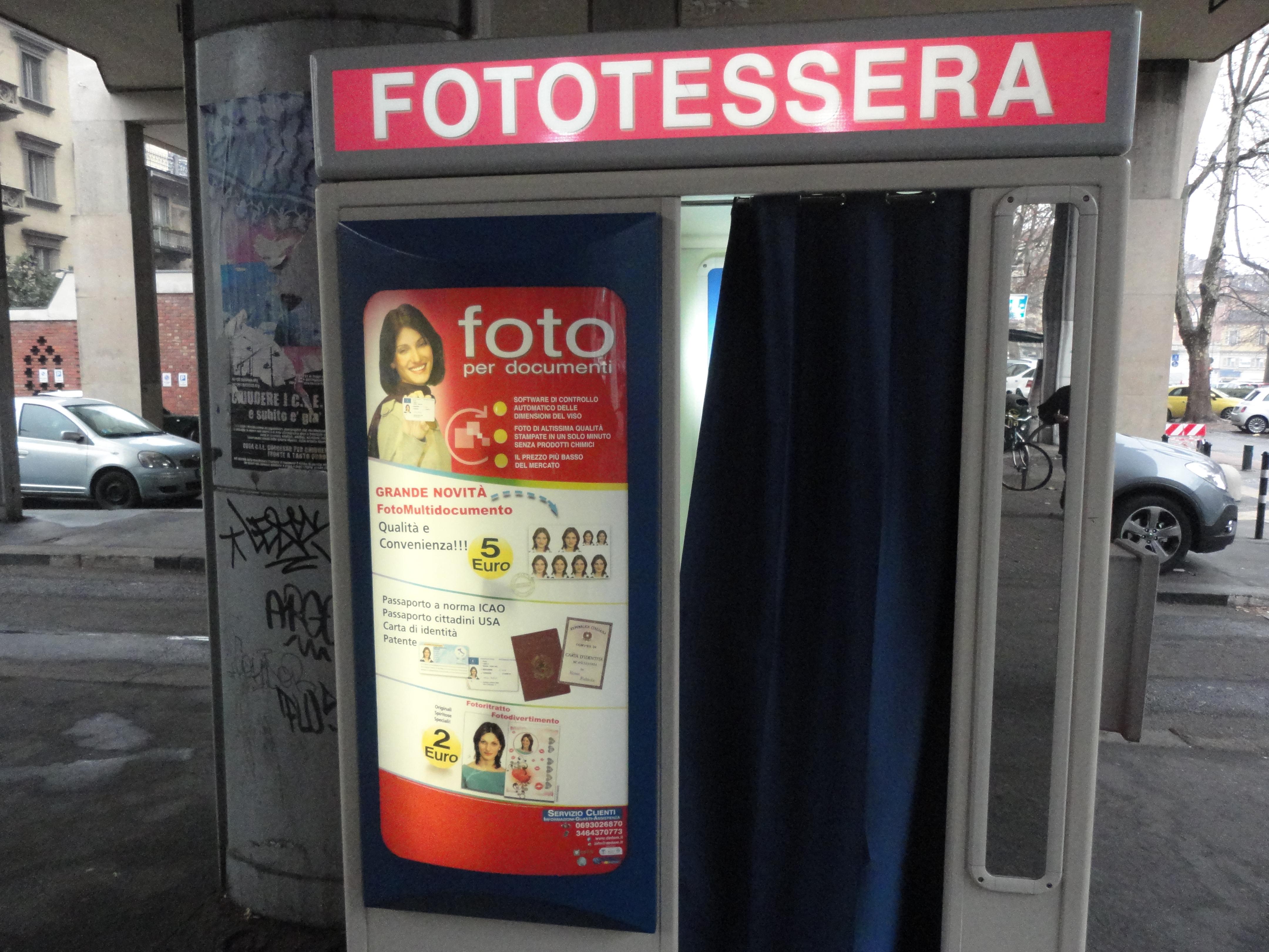 Cabina Fototessere Torino : Dalla cabina peru fototessera il di romano borrelli