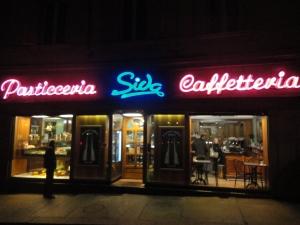 Torino, gennaio 2015. Pasticceria Sida. Foto Borrelli Romano