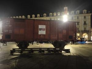 Torino Piazza Castello, gennaio. Foto, Borrelli Romano.