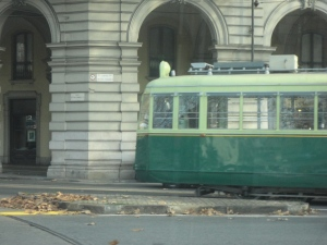 Torino, tram storico, foto Romano Borrelli