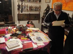 Torino gennaio 2015. Diego Novelli, foto, Borrelli Romano.