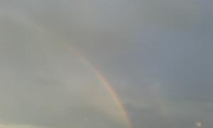 Foto Borrelli Romano, arcobaleno,Salento,16 8 2015