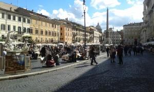 17 10 2015 Piazza Navona foto Borrelli Romano