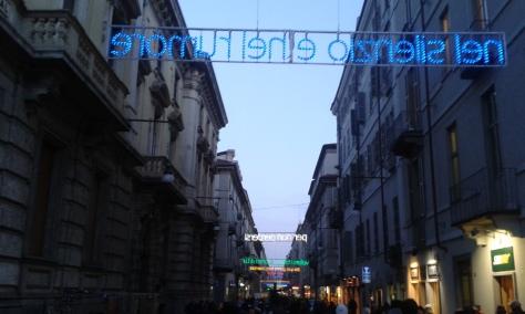 Torino via Garibaldi 6 1 2015 foto Borrelli Romano