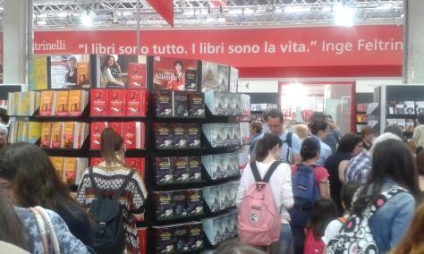 Torino 14 5 2016 foto Romano Borrelli. Salone libr