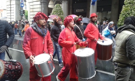 Torino. Corteo.1 5 2016 foto Borrelli Romano.
