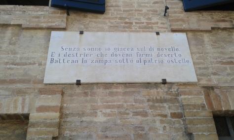 Recanati. 2 7 2016.foto Borrelli Romano