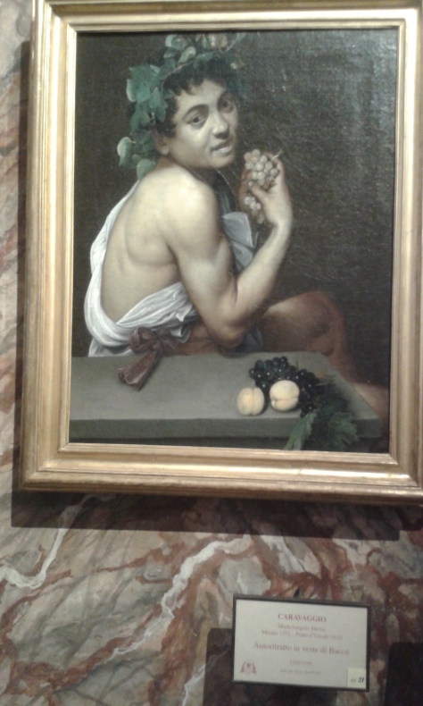 Roma.Caravaggio.Bacco.foto Borrelli Romano