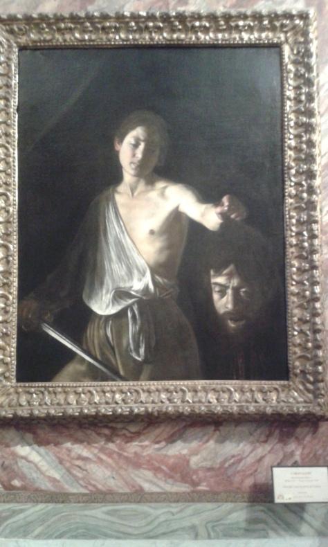 Roma.Caravaggio.Davide-Golia.Borrelli Romano foto