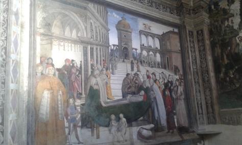 Roma, Pinturicchio.9 12 2017 Romano Borrelli foto